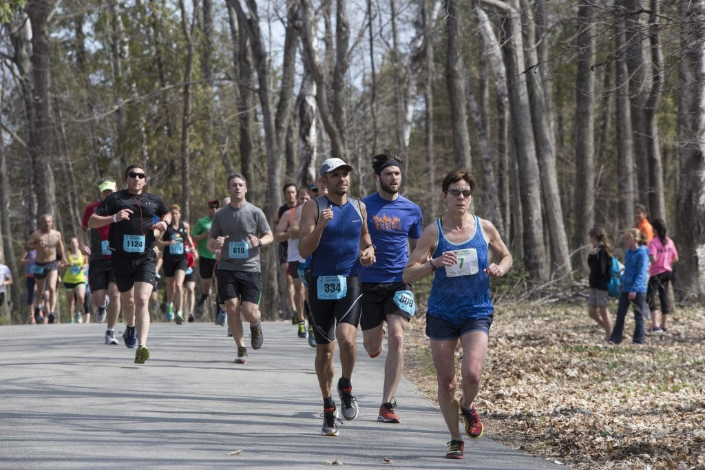 The Door County Half Marathon returns to Peninsula State Park May 7, 2016.
